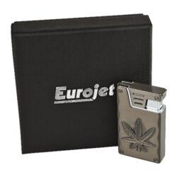 Zapalovač Eurojet Hanf, gunmetal(250036)