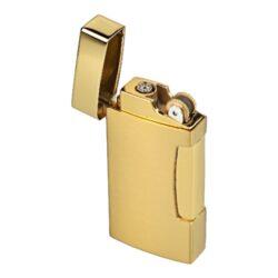 Zapalovač Hadson Dual, zlatý(10223)