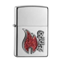 Zapalovač Zippo kat. 146830, satin-Benzínový zapalovač Zippo. Zapalovač Zippo není naplněn benzínem. Provedení: satin. Správné fungování zapalovače Zippo zajistíte originálním příslušenstvím: benzín Zippo 3141 Fluid, kamínky Zippo Flint, knoty Zippo Wick a vatu do zapalovače Zippo.