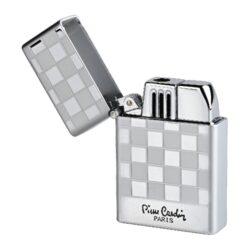 Tryskový Zapalovač Pierre Cardin Angers Chess, chromový(900430)