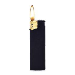 Zapalovač Prof Piezo Black&Gold Rubber(804460)
