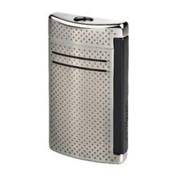Zapalovač S.T. DuPont Maxijet, gunmetal dot-Kvalitní tryskový zapalovač S.T. DuPont Maxijet známé francouzské značky. Za preciznost zpracování kovového zapalovače hovoří sama značka S.T. DuPont. Díky silnému plamenu je vhodný nejen k zapalování cigaret, ale i doutníků. Na boční straně je umístěné okénko, kde je možné vidět hladinu plynu v zapalovači. Na spodní části zapalovače najdete nastavení intenzity plamene a ventil na plnění plynem. Zapalovač je dodáván v dárkové bílé krabičce s logem. Výška: 6,5cm. Zapalovače S.T. DuPont nejsou při dodání naplněné plynem.