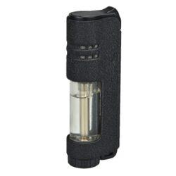 Tryskový zapalovač Eurojet Armin, černý-Tryskový zapalovač. Zapalovač je plnitelný. Výška 8,1cm. Tryskový turbo zapalovač je dodáván v dárkové krabičce.