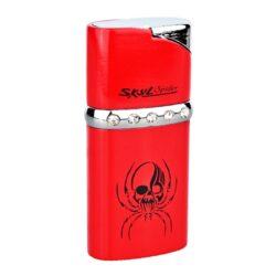 Zapalovač Eurojet Spider-PRODEJ TOHOTO ZBOŽÍ BYL UKONČEN. PROSÍM, VYBERTE SI PODOBNÝ PRODUKT Z NABÍDKY ALTERNATIVNÍHO ZBOŽÍ. Plynový zapalovač. Výška 6cm. Zapalovač je plnitelný. Zapalovač je dodáván v dárkové krabičce.