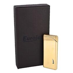 Zapalovač Eurojet Slider, zlatý(253180)