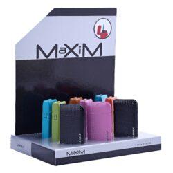 Tryskový zapalovač Maxim Pascin-Kovový tryskový zapalovač. Ve spodní části zapalovače najdeme nastavení intenzity plamene a plnící ventil. Výška 6cm. Tryskový zapalovač je dodáván v dárkové krabičce. Cena je uvedena za 1 ks.