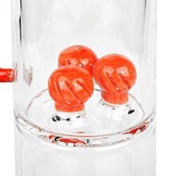 Bong skleněný s perkolací Grace Glass LE Set oranžový 38cm(G642OR)