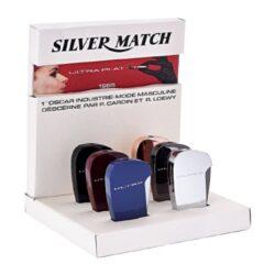 Zapalovač Silver Match Ultra Lighter, 6mix-Kovový plynový zapalovač. Zapalovač obsahuje ve spodní části nastavení intenzity plamene a plnící ventil. Výška zapalovače je 6,3cm. Cena je uvedena za 1 ks.