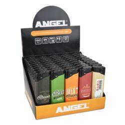 Zapalovač Angel Piezo Beer-Plynový zapalovač. Zapalovač je plnitelný. Prodej pouze po celém balení (displej) 50 ks. Výška zapalovače 8cm.