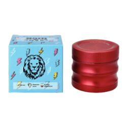 Drtič tabáku kovový Champ High ALU, 56mm, červený, 4d.(506076)