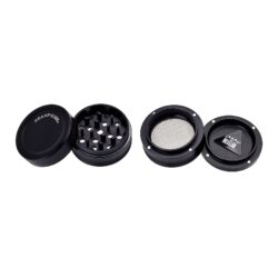Drtič tabáku kovový Champ High ALU, 56mm, černý, 4d.(506077)