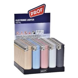 Zapalovač Prof Piezo iPhone colors-Plynový zapalovač. Zapalovač je plnitelný. Prodej pouze po celém balení (displej) 50 ks. Výška zapalovače 8cm.