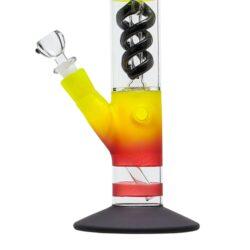 Skleněný bong s perkolací Amsterdam RYG Ice 40cm(02918RE)