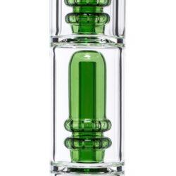 Bong sklo Grace Glass OG Series Green 58cm, perkolace(G217G)