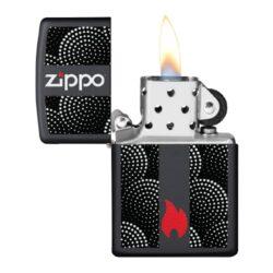 Zapalovač Zippo Dot Pattern, matný(Z 158173)