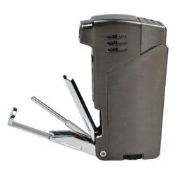 Dýmkový zapalovač Winjet Bernardo, dark gun(222090)